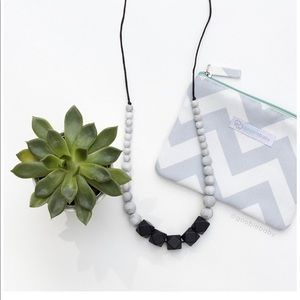 Statement teething teether necklace jewelry
